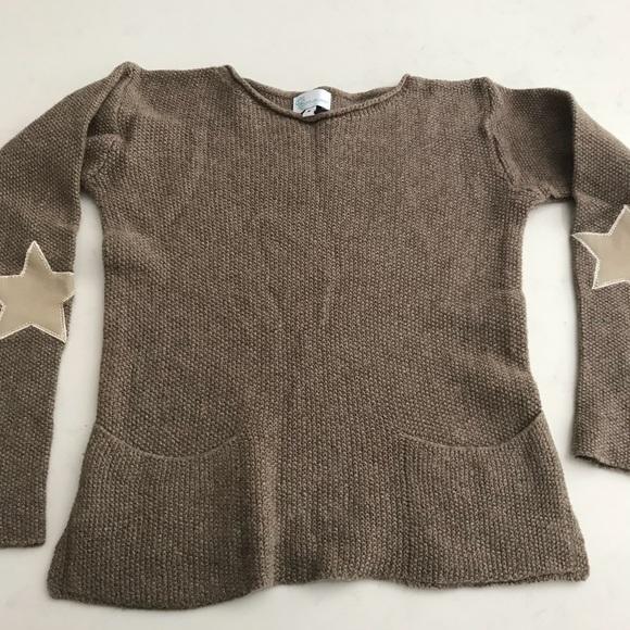 45de654f5b798a Designer cashmere wool blend girls sweater
